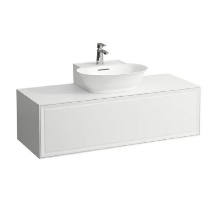 816852 - Laufen The New Classic 500mm x 450mm Small Washbasin & 1200mm Vanity Unit - 8.1685.2